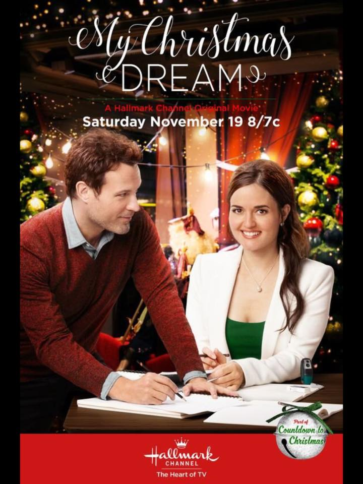 My christmas dream 2016 hallmark channel lifetime uncorked for Hallmark christmas in july 2017 schedule