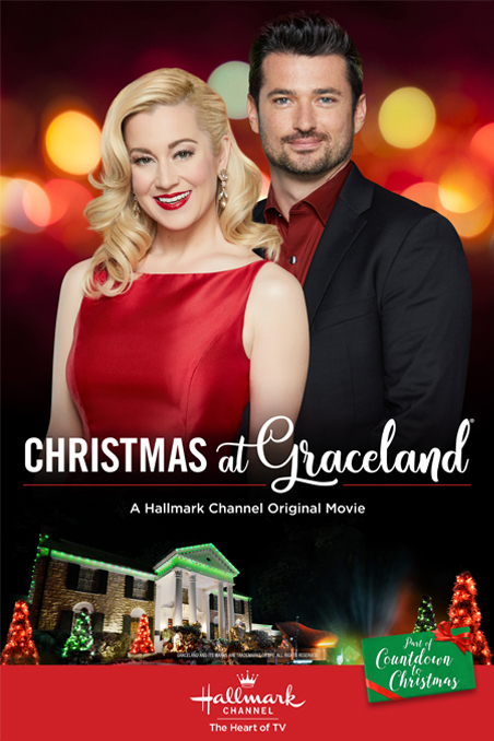 Christmas At Graceland 2018 Hallmark Poster.Christmas At Graceland 2018 Hallmark Channel Lifetime