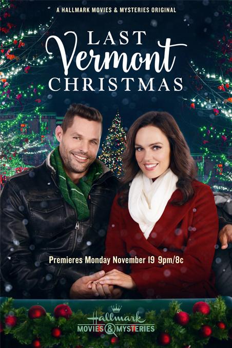 Last Vermont Christmas 2018 Hallmark Movies Mysteries Lifetime
